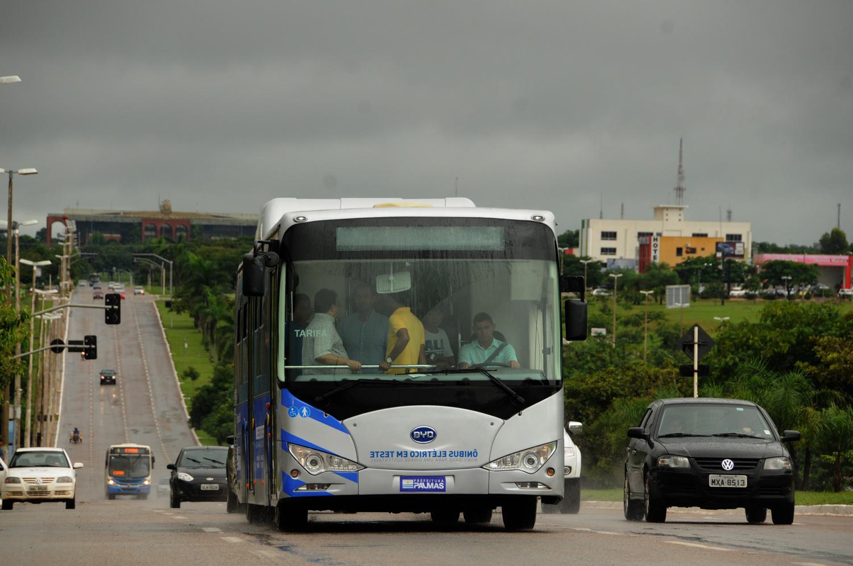 imageEco ônibus percorreu a Avenida Teotônio Segurado