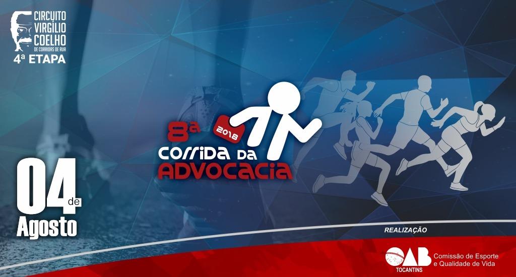 imageA 8ª Corrida da Advocacia será realizada neste sábado, 04