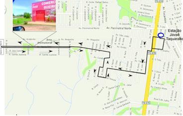 Prefeitura inaugura linha de ônibus que vai atender Jardim Aeroporto